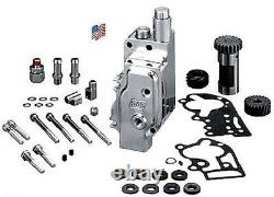 S&S Polished Billet Oil Pump Kit Shovelhead Evo Evolution Big Twin Harley31-6203