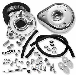S&S Teardrop Air Cleaner Kit 17-0404 Harley Big Twin EVO (92-99)