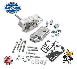 S&s Billet Oil Pump Kit For Harley 1992-99 Evo With Universal Cover 31-6205