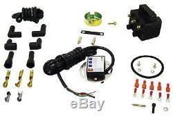 Single Fire Ignition Kit with Coil Harley Evo Big Twin & XL