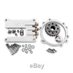Twin-Cam TC 96A 103A Motor Adaptor Mount Plate Kit Harley Evo FLT FXR Frame