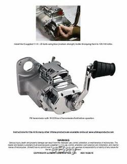 Ultima 6 5 Speed Transmission Kicker Kit Kick Starter Start Harley Evo Evolution