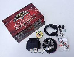 Ultima Single Fire Programmable Ignition Coil Kit Harley Evo Big Twin & XL 70-99