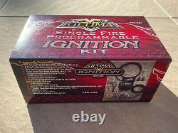 Ultima single fire programmable ignition kit fits Harley Davidson Evo
