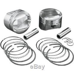 Wiseco. 030 High-Performance Forged Piston Kit for 84-99 Harley Evo Big Twin