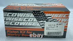 Wiseco 10.51 +. 010 3.507 Pistons Rings Kit Harley Bt Evo Screamin Eagle Heads