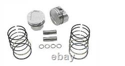 Wiseco Forged Piston Kit 111 Compression. 005 Over K1691 Harley B/T Evo 1984-99