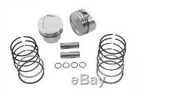 Wiseco Forged Piston Kit 111 Compression. 020 Over K1691 Harley B/T Evo 1984-99