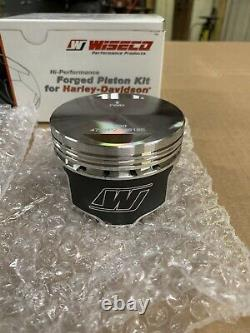 Wiseco Harley Davidson Evo 1340 Forged Piston Kit 8.51 Manufacture Part# K1642