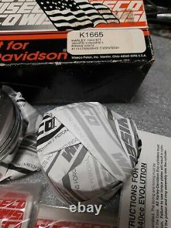 Wiseco Harley Evo 1340 Piston Kit K1665