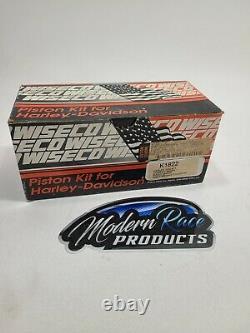 Wiseco K1622 Harley Davidson 1340/1375 Evo'85-99 Piston Kit